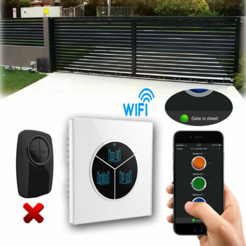 Mobile App Control WIFI Switch for Automatic Sliding Gate Opener Replace Remote
