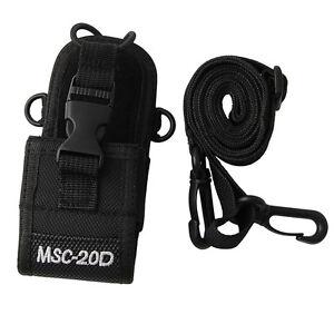 Pouch Holster Bag Case Nylon MSC-20D For Baofeng Motorola Kenwood Radio HIYG New