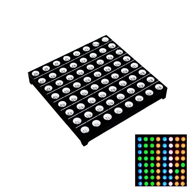 1PCS 5mm 8*8 8x8 Full Colour RGB LED Dot Matrix Display Module Common Anode