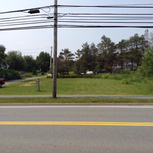 Large R2 Serviced Lot on HWY 2 in Enfield