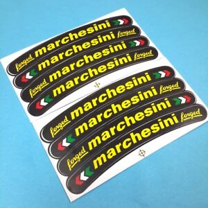 new 8X stickers wheel rim for Marchesini Ducati motorcycles car decal decoration