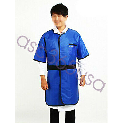 Hospital Device X-ray Protective Lead Apron Shield Vest Half Sleeves Belt S Size