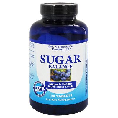 Dr Venessas Formulas Sugar Balance (Dr Venessas Formulas Sugar Balance Support Healthy Dietary Supplement - 120)