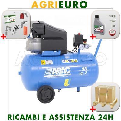 Compressore diretto ABAC serie LINE - Montecarlo L20 - 50 litri aria compressa