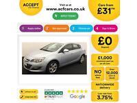 Vauxhall/Opel Astra 1.4i VVT 16v ( 100ps ) 2014MY SRi FROM £31 PER WEEK!