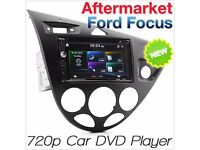 Ford Focus MK1 1998-2004 Car DVD USB Player Head Unit Radio Stereo Fascia Kit KT