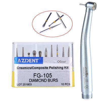 Nsk Pana Max Style Dental B2 High Speed Handpiece Diamond Fg Burs Polishing