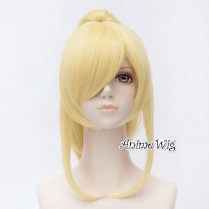 Eli Ayase Love Live Blonde Wavy Heat Resistant Anime Cosplay Wig + 50CM Ponytail