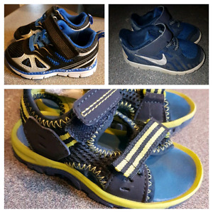 Toddler boys shoes size 5, 6, 6