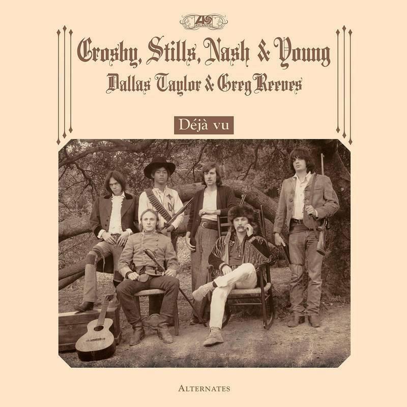 Crosby, Stills, Nash & Young  - Déjà vu Alternates NEW Sealed Vinyl LP RSD 2021