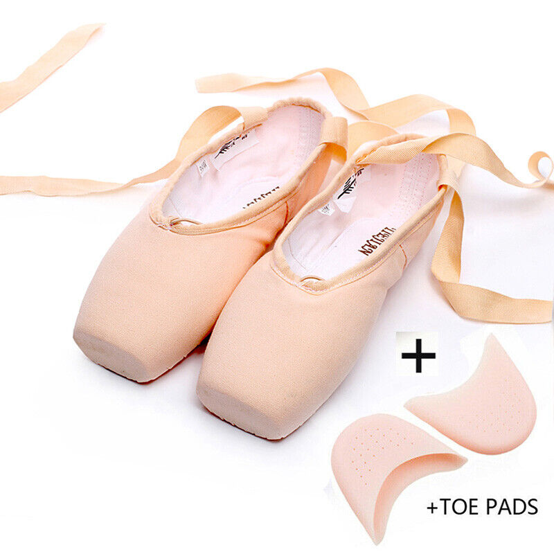 Canvas Pink With Toe Pads