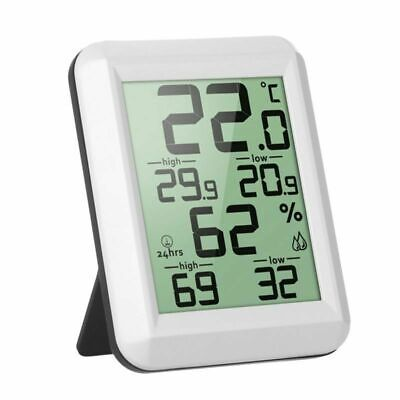Wireless-temperatur-station (LCD Digital Thermometer Wetterstation Innen Außen Wireless Temperatur Station DE)