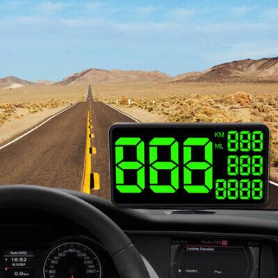 Auto GPS HUD Tacho Anzeige Tachometer MPH/KM/h Geschwindigkeitswarnung Universal