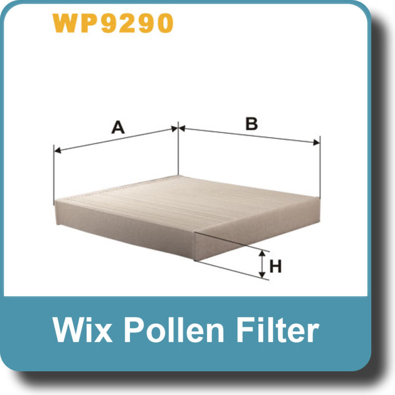 NEW Genuine WIX Replacement Pollen Filter WP9290