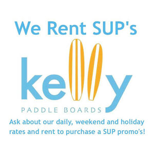 Rent an Inflatable Stand Up Paddle Board by Kelly Paddle Boards