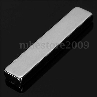 20x Super Strong Long Block Bar Fridge Magnet 50x10x5mm Rare Earth Neodymium N50