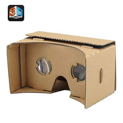 DIY 3D Google Cardboard Glasses - Mobile Phone Virtual Reality 3D - Diy 3d Glasses