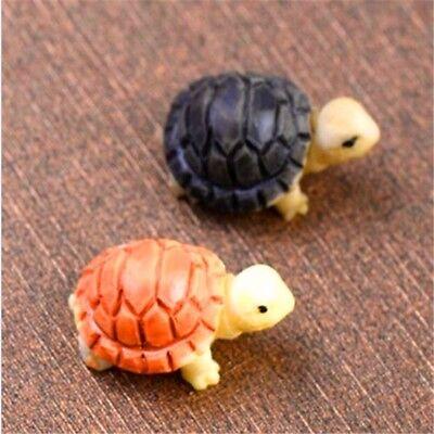 Aquarium Schildkröte Puppenhaus Ornament Blumentopf Handwerk Zufällige Neu