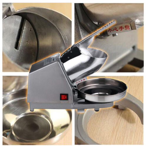 Electric Ice Crusher/Slicer Elettrico frantoio di ghiaccio/Macchina ksb