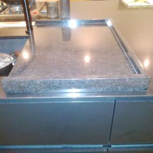 Planche granite NOIR - Lavabo ou planche à découper! A voir!