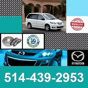 Mazda MPV • Freins et Disques • Brakes and Rotors