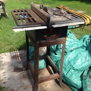 Scary table saw