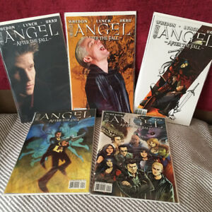 Angel: After the Fall issues 1-5