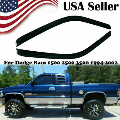 Fit for Dodge Ram 1500/2500/3500 Window Visor Sun Rain Win Vent 1994-2002