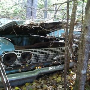 1965 Rambler Ambassador 990 Convert and Chev Parts