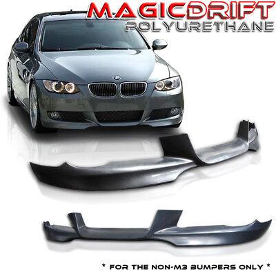 For 07-10 BMW E92 328 335 Coupe OE M Sport Style Polyurethane Front Bumper Lip
