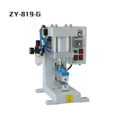 Pneumatic Hot Foil Stamping Machine Leather Wood Automatic Stamper 800w 220v