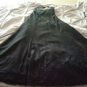 Long Black Sparkly Formal Dress - Size 10