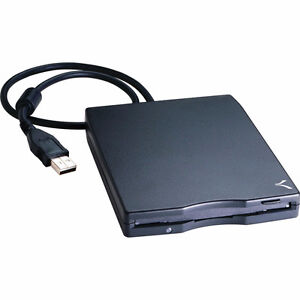 Usb External 3.5in 1.44mb Floppy Disk Drive (Black)