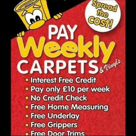 Pay Weekly Carpets and Vinyl