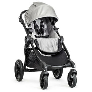 BABBY JOGGER CITY SELECT SINGLE IN SILVER - FLOOR MODEL - $510