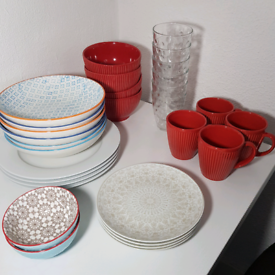 Perfect condition crockery. Selling individually or together!