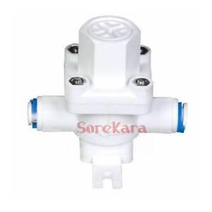 1 4 tube pushfit pressure relief regulator filter protection valve for ro water ebay. Black Bedroom Furniture Sets. Home Design Ideas
