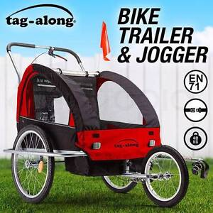 NEW Tag-along Kids Bike Trailer Child Bicycle Pram Stroller Child Dandenong Greater Dandenong Preview