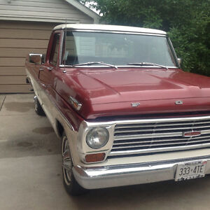 1968 Ford F100 Ranger:Excellent