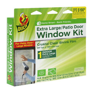 Patio door film kits / Kits de film isolant pour porte patio