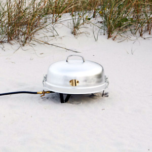 Propane portable campfire