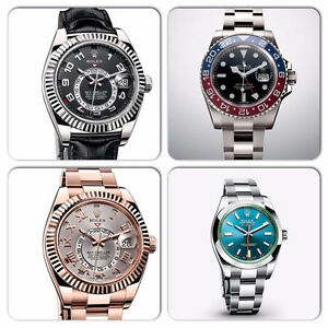 BUYING USED  AUTHENTIC BRAND NAME WATCHES