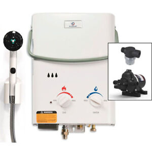 Eccotemp L5 Tankless Water Heater Bundle (12v Eccoflo Pump)