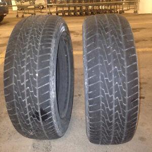 02 pneus d'ete 195 60 R15 sur jantes