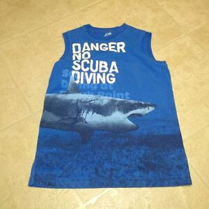 boys size 10 Shark Tank Top
