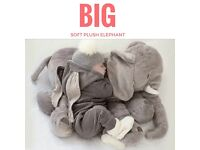 Soft Toy Teddy Giant Plush Elephant Pillow Baby Christmas Gift Must Have Trendy Big Cuddly Soft