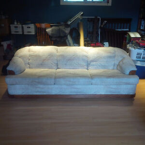 Couch & Love seat (non smoking) -- free if you move it!