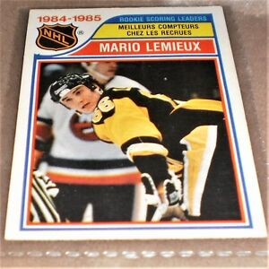 MARIO LEMIEUX -ROOKIE SCORING LEADERS  OPC 262