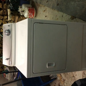 May tag heavy duty super size load dryer