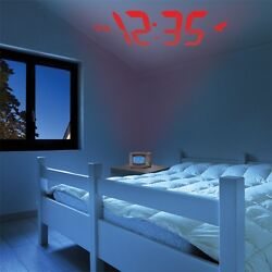Acurite Atomic Projection Clock With Indoor Temperature - Digital - Atomic